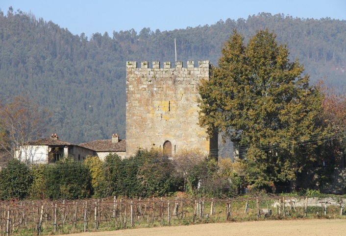 Tower of Refoios, Palace of Curutelo (Freixo) and Palace of Bertiandos