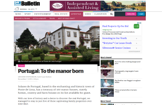 Portugal to the Manor Born